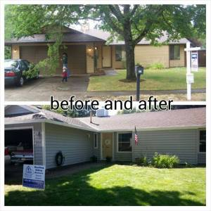 house before and after